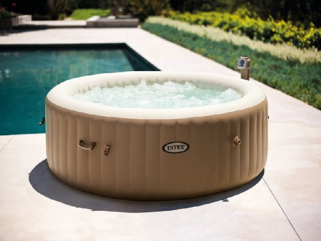4 persoons Jacuzzi Intex PureSpa Bubble HWS800 whirlpool Ø2 m
