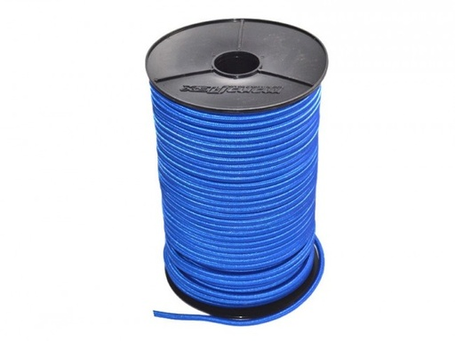 [6050637] 8mm elastiek blauw per meter